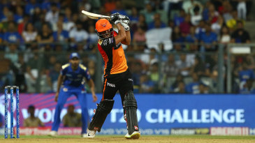 Manish Pandey drills one down the ground