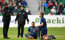 Dawid Malan required treatment from the physio, Ireland v England, only ODI, Malahide, May 3, 2019