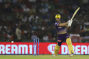 Chris Lynn drills one past mid-off, Kings XI Punjab v Kolkata Knight Riders, IPL 2019, Mohali, May 3, 2019