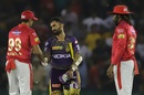R Ashwin congratulates Dinesh Karthik on winning the match, Kings XI Punjab v Kolkata Knight Riders, IPL 2019, Mohali, May 3, 2019