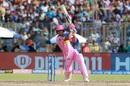 Riyan Parag plays a drive, Delhi Capitals v Rajasthan Royals, IPL 2019, Delhi