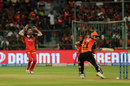 Yuzvendra Chahal reacts as the ball narrowly misses the stumps, Royal Challengers Bangalore v Sunrisers Hyderabad, IPL 2019, Bengaluru, May 4, 2019