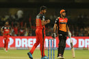 Washington Sundar celebrates a wicket, Royal Challengers Bangalore v Sunrisers Hyderabad, IPL 2019, Bengaluru, May 4, 2019