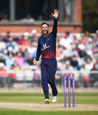 Glenn Maxwell appeals, Lancashire v Worcestershire, Royal London Cup, Old Trafford, April 27, 2019