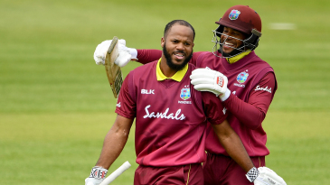 John Campbell and Shai Hope put on the biggest opening stand in all ODI cricket
