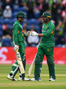 Babar Azam and Haris Sohail shared a century stand, England v Pakistan, only T20I, Cardiff, May 5, 2019