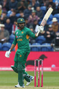 Haris Sohail celebrates his maiden T20I fifty, England v Pakistan, only T20I, Cardiff, May 5, 2019