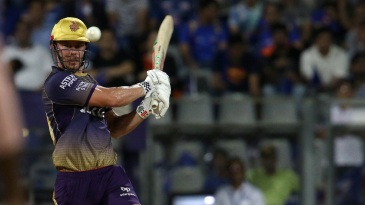 Chris Lynn swats one away