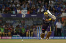 Robin Uthappa drives down the ground, Mumbai Indians v Kolkata Knight Riders, IPL 2019, Mumbai