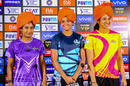 Mithali Raj, Harmanpreet Kaur and Smriti Mandhana pose for the cameras in Jaipur, Women's T20 Challenge 2019, May 4, 2019, Jaipur