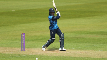 Daniel Bell-Drummond swats through the off side