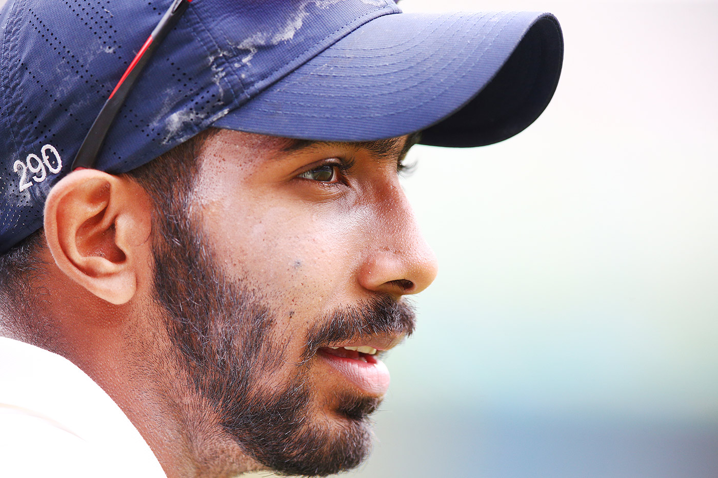 Jasprit Bumrah close-up