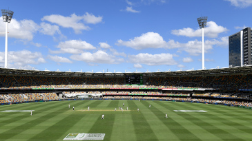 Australia have a formidable record at the Gabba