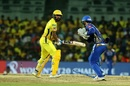 Quinton de Kock stumps M VIjay off Rahul Chahar, Mumbai Indians v Chennai Super Kings, IPL 2019 Qualifier 1, Chennai, May 7, 2019
