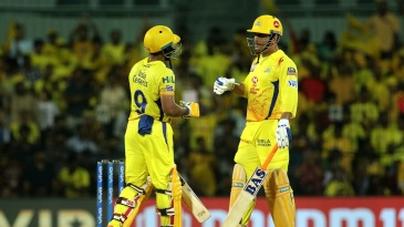 Ambati Rayudu and MS Dhoni lifted Super Kings out of a mess