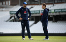 James Vince chats with Eoin Morgan, The Oval, May 7, 2019