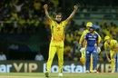 Imran Tahir struck in successive balls to ignite his team's hopes, Mumbai Indians v Chennai Super Kings, IPL 2019 Qualifier 1, Chennai, May 7, 2019