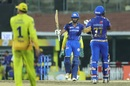 Hardik Pandya and Suryakumar Yadav celebrate the winning run, Mumbai Indians v Chennai Super Kings, IPL 2019 Qualifier 1, Chennai, May 7, 2019