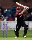 James Hildreth drives through the off side, Somerset v Surrey, Royal London Cup, South Group, Taunton, May 7, 2019