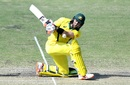 Glenn Maxwell plays a reverse sweep, Australian XI v New Zealand XI, 2nd one-day match, Allan Border Field, May 8, 2019