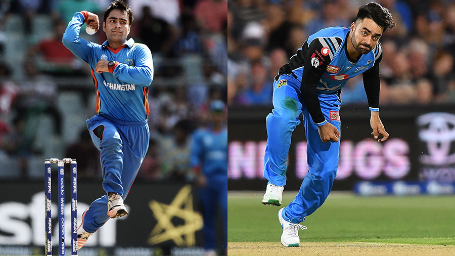 From baby face to badass: realising he was a role model for young Afghans, and inspired by Virat Kohli's transformation, Rashid got serious about his fitness