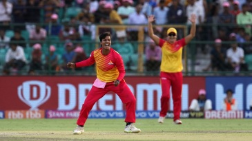 Deepti Sharma picked up three wickets to give Velocity an almighty scare