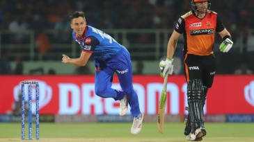Trent Boult extracted some early swing