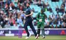 Liam Plunkett celebrates dismissing Babar Azam, England v Pakistan, 1st ODI, The Kia Oval, London, May 8, 2019