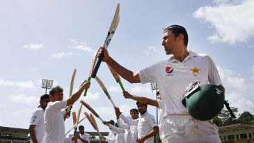 Younis Khan retired in 2017 as Pakistan's highest Test run-getter