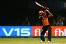 Vijay Shankar goes over extra cover, Delhi Capitals v Sunrisers Hyderabad, IPL 2019 Eliminator, Vishakhapatnam, May 8, 2019