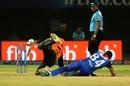 Deepak Hooda was run out after a collision with Keemo Paul, Delhi Capitals v Sunrisers Hyderabad, IPL 2019 Eliminator, Vishakhapatnam, May 8, 2019