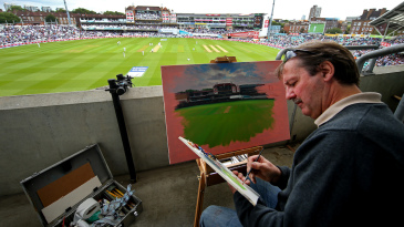 Former England wicketkeeper Jack Russell is as nifty behind the easel as he was behind the stumps, and his gallery in Chipping Sodbury showcases his best work
