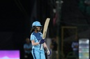 Jemimah Rodrigues raises her bat after getting to fifty, Velocity v Supernovas, Women's T20 Challenge, Jaipur, May 9, 2019