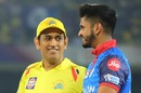 MS Dhoni and Shreyas Iyer - all smiles before the knockout clash, Chennai Super Kings v Delhi Capitals, IPL 2019 Qualifier 2, Visakhapatnam, May 10, 2019