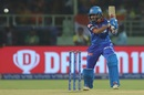Prithvi Shaw plays to the off side, Chennai Super Kings v Delhi Capitals, IPL 2019 Qualifier 2, Visakhapatnam, May 10, 2019
