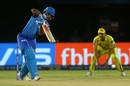 Shikhar Dhawan drives down the ground for four, Chennai Super Kings v Delhi Capitals, IPL 2019 Qualifier 2, Visakhapatnam, May 10, 2019