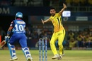 Deepak Chahar goes up in appeal, Chennai Super Kings v Delhi Capitals, IPL 2019 Qualifier 2, Visakhapatnam, May 10, 2019