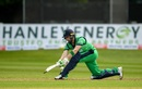 Andy Balbirnie sweeps, Ireland v West Indies, Match 4, Ireland tri-series, Dublin, May 11, 2019