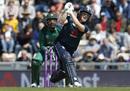 Eoin Morgan lofts down the ground, England v Pakistan, 2nd ODI, Ageas Bowl, May 11, 2019