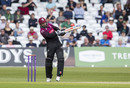 Peter Trego pulls on his way to top-scoring for Somerset, Nottinghamshire v Somerset, Royal London One Day Cup semi-final, Trent Bridge, May 12, 2019