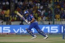 Rohit Sharma flicks the ball to the legside, Mumbai Indians v Chennai Super Kings, IPL 2019 final, Hyderabad, May 12, 2019