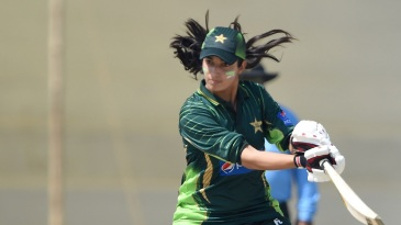 Aliya Riaz hit an 82-ball 71 to help Pakistan tie the final ODI