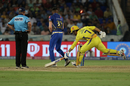 MS Dhoni's dismissal made it a tense chase , Mumbai Indians v Chennai Super Kings, IPL 2019 final, Hyderabad, May 12, 2019