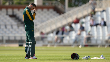Alex Hales misses out on a final at Lord's'after Nottinghamshire's defeat