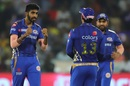 Jasprit Bumrah is pumped up, Mumbai Indians v Chennai Super Kings, IPL 2019 final, Hyderabad, May 12, 2019