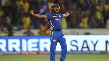 Lasith Malinga pulled out one of his final-over specials