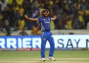 Lasith Malinga pulled out one of his final-over specials, Mumbai Indians v Chennai Super Kings, IPL 2019 final, Hyderabad, May 12, 2019