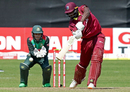 Jason Holder punches through the covers, Bangladesh v West Indies, Ireland tri-series, Dublin, May 13, 2019