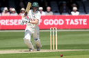 Ben Slater gets forward to drive through mid-off, Essex v Nottinghamshire, County Championship, Chelmsford, 1st day, May 14, 2019