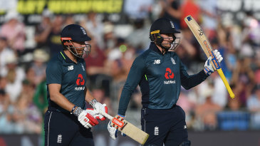 Jonny Bairstow and Jason Roy added 145 for the first wicket